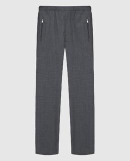 Серые брюки из шерсти Castello D'Oro 2300006155536