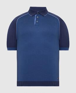Синее поло Castello D'Oro 2300006156908