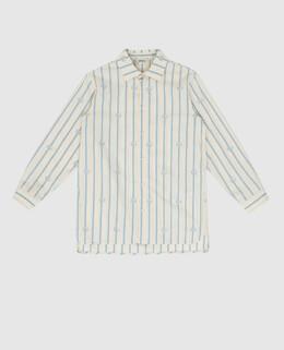 Детская светло-бежевая рубашка Gucci 2300006165900