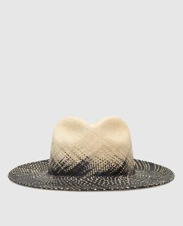 """Соломенная шляпа """"Elvira"""" Yosuzi 2300006139710"""