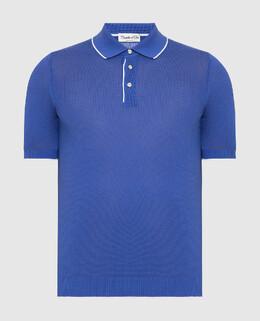 Синее поло Castello D'Oro 2300006157509