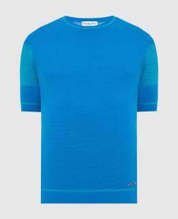 Синяя футболка Castello D'Oro 2300006156625