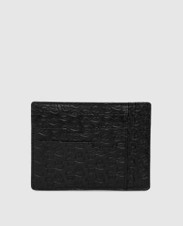 Черный кожаный картхолдер ручной работы Castello D'Oro 2300006155918