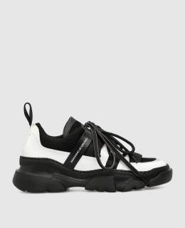 Черные кроссовки Ermanno Scervino 2300006216343