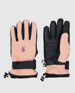 Пудровые перчатки Moncler Grenoble 2300006234491