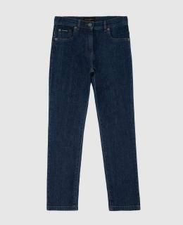 Детские синие джинсы Dolce&Gabbana 2300006258343