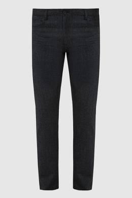 Темно-серые брюки из шерсти Canali 2300006264016