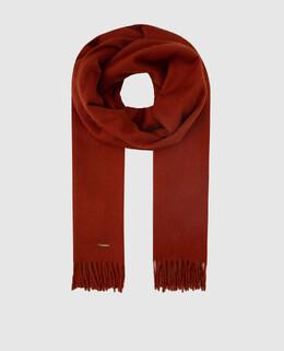 Терракотовый шарф из кашемира Loro Piana 2300004526284