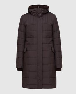 Коричневая куртка Loro Piana 2300005635435