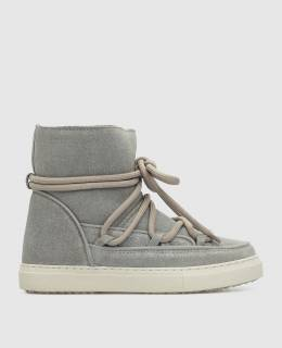 Детские серые ботинки на меху Inuikii 2300006315244