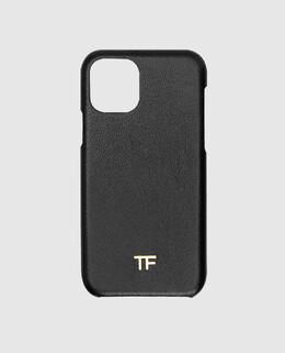 Черный кожаный чехол для iPhone 11 Pro Tom Ford 2300006289705