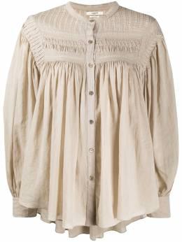 Isabel Marant Etoile прозрачная блузка с объемными рукавами HT182120A052E