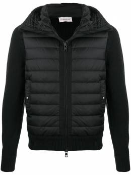Moncler padded knitted jacket F20919B50800A9340