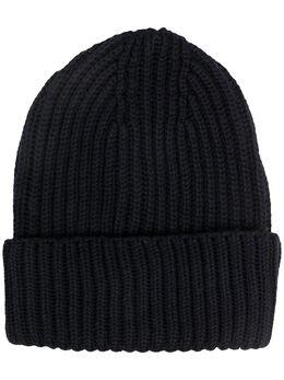 Zanone шапка бини в рубчик 822465ZM262
