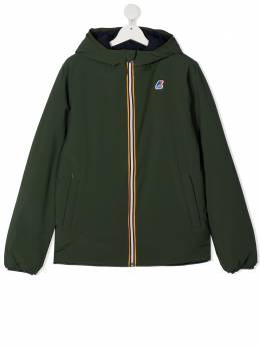 K Way Kids двусторонняя куртка с капюшоном K111JKWT