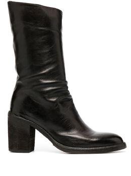 Officine Creative высокие ботильоны на блочном каблуке OCDAIME004OLIV6L225