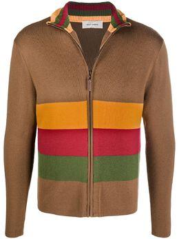 Wales Bonner свитер на молнии MA20KN02KNSW01800