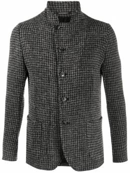 Emporio Armani houndstooth check tailored jacket 91G57S91240
