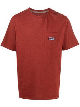 Patagonia футболка с нагрудным карманом 38510