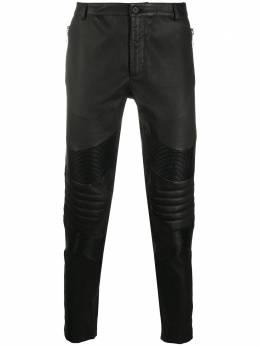 Les Hommes байкерские брюки LJL481172U