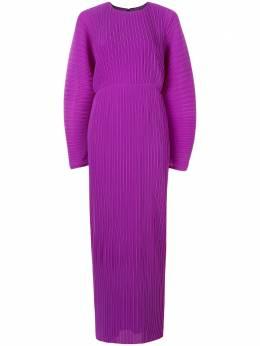 Solace London плиссированное платье макси Maribelle OS21061