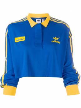Adidas укороченная рубашка поло GD2301
