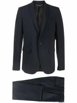 Les Hommes строгий костюм с однобортным пиджаком LXW100305U