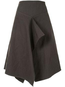 Lemaire юбка А-силуэта с драпировкой W204SK263LF280