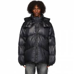 Mastermind World Black Rocky Mountain Featherbed Edition Down NS Parka MW20C05-BL500