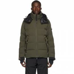 Moncler Grenoble Green Down Montgetech Jacket F20971A5164053066