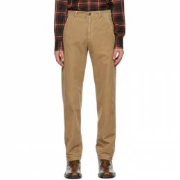 Dries Van Noten Brown Corduroy Trousers 20943-1239-101