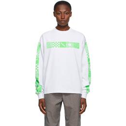 Rassvet White Logo Long Sleeve T-Shirt PACC7T007