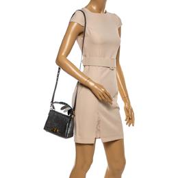 Anya Hindmarch Metallic Leather Small Dragonfly Bathurst Top Handle Bag 341393