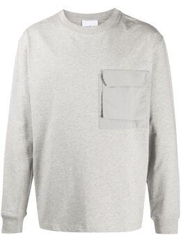 Soulland футболка с нагрудным карманом 10591063