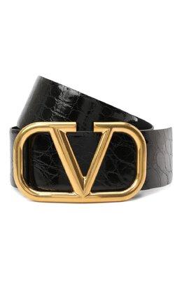 Ремень из кожи аллигатора Valentino UW2T0S10/QRL/AMIS