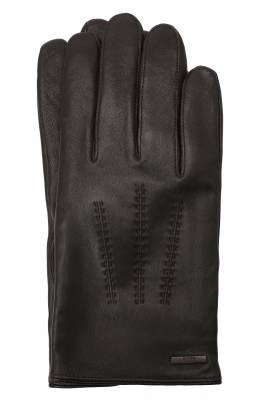 Кожаные перчатки Boss by Hugo Boss 50437119