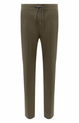 Хлопковые брюки Brunello Cucinelli M266LE1740