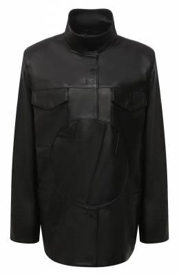 Кожаная куртка Off-White 0WJA043F20LEA0011000