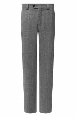 Шерстяные брюки Brunello Cucinelli ME244E1460