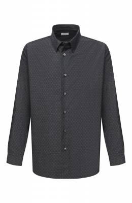 Хлопковая рубашка Brioni SCDS0L/09032