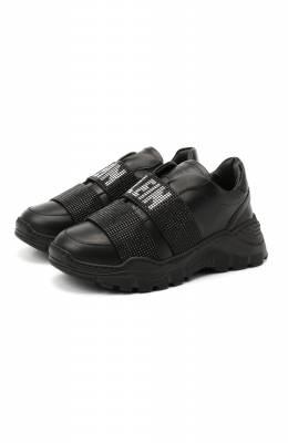 Кожаные кроссовки Philipp Plein F20S GSC0143 PLE075N