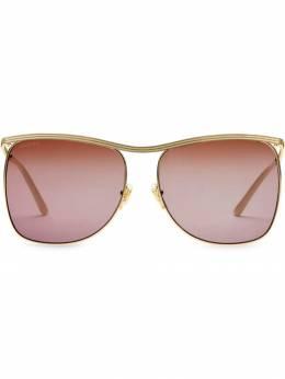 Gucci Eyewear солнцезащитные очки в квадратной оправе 643000I3330