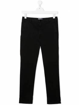 Dondup Kids прямые брюки чинос средней посадки BP227RS0039PTD