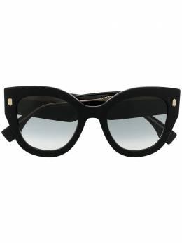 Fendi Eyewear солнцезащитные очки Roma в массивной оправе FF0435S8079O