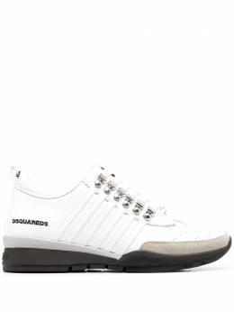Dsquared2 кроссовки с нашивкой-логотипом SNM014601500001
