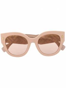 Fendi Eyewear солнцезащитные очки Roma в массивной оправе FF0452FS35JEB