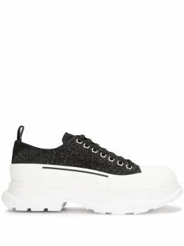 Alexander McQueen кроссовки на утолщенной подошве 627225WHW57