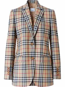 Burberry Vintage Check blazer jacket 8033466
