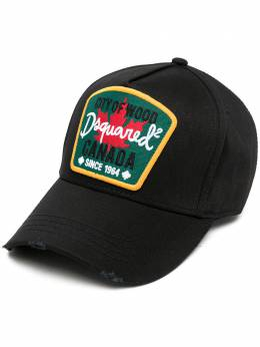 Dsquared2 кепка с нашивкой-логотипом BCM037605C00001