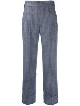 Incotex полосатые брюки прямого кроя 171784D1234